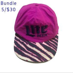 Vintage Miller Lite Hat SnapBack Cap